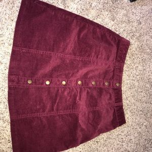 Forever21 button front skirt